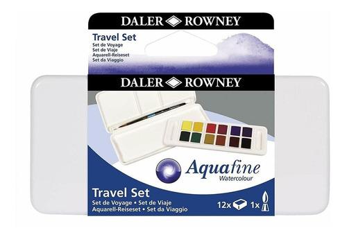 set de acurelas daler rowney x12 travel