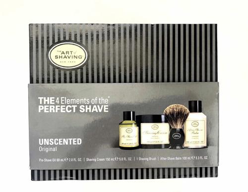 set de afeitado - barba - the art of shaving set (sin aroma)