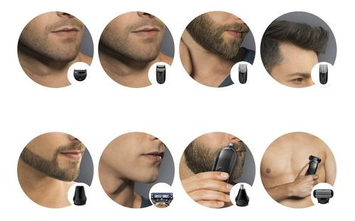 set de afeitado multifunción braun 9 en 1 braun mgk3080