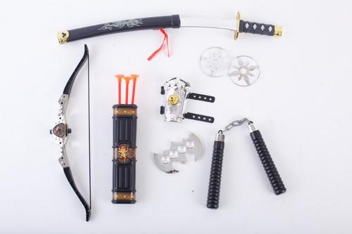 set de armas ninjas weapon series jem