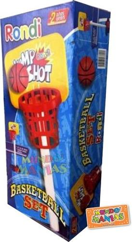set de aro basket basketball jump shot rondi mundo manias