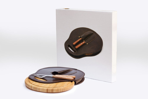 set de asado estribo - merchandising