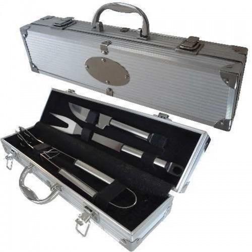set de asador utensilios kit parrillero parrilla accesorios!
