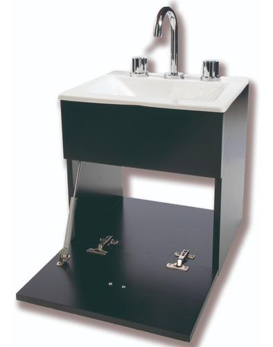 set de baño inodoro mampara vanitory 40cm griferia y espejo