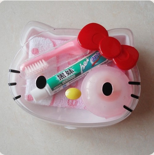 Set De Baño Jabonera:Set De Baño, Jabonera Hello Kitty – $ 22000 en Mercado Libre