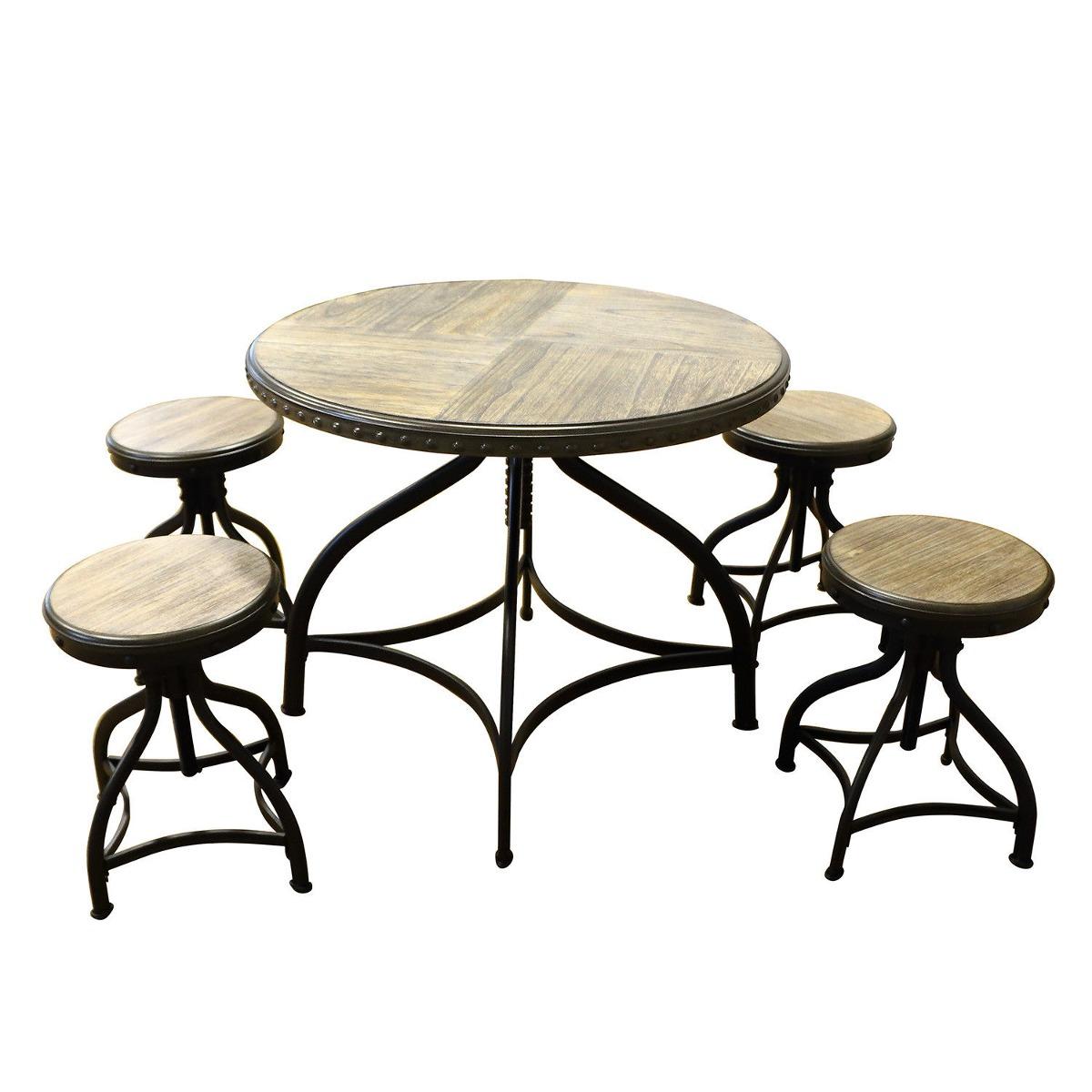 Set De Bar Moderno Contador Altura Mesa... (bar Table.) - $ 430.990 ...