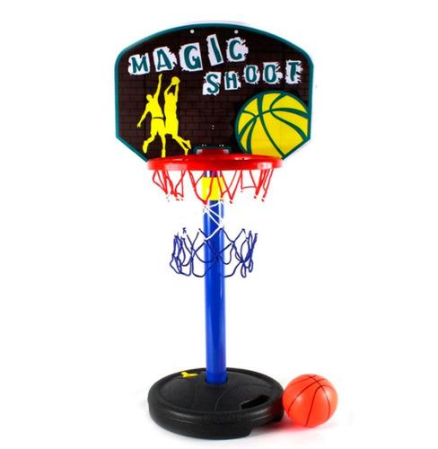 set de basketball infantil aro con base + balón + inflador