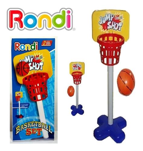 set de basquet rondi basketball juego deporte niños práctico