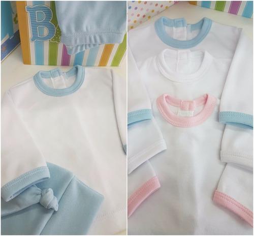 set  de bebe recién nacido en algodón 100%