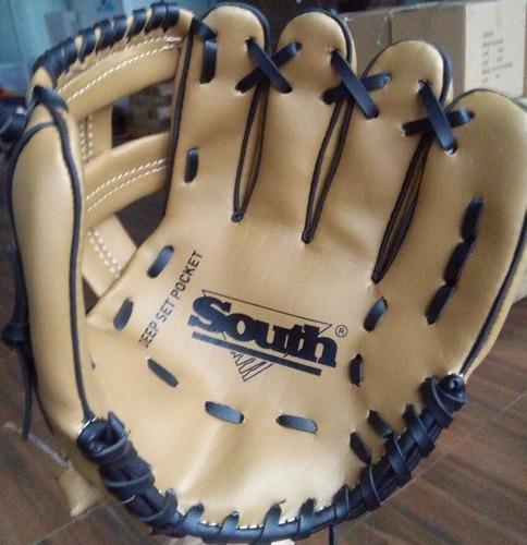 set de béisbol - bate 24'' + guante 9'' + bola 9''