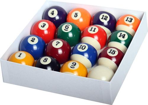 set de bola pool billar juego completo / m. o.