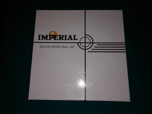 set de bolas de billar o pool imperial