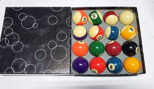 set de bolas de pool o billar