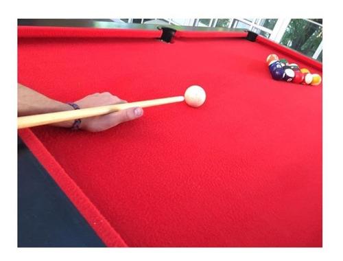 set de bolas triangulo y tacos para mesa de pool kit pool