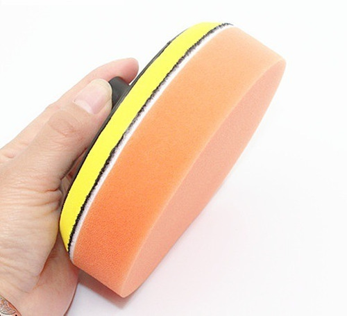 set de bonete o pad de pulido 7 pulgadas con respaldo
