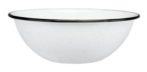 set de bowl multiusos grande de peltre, 6 piezas blanco