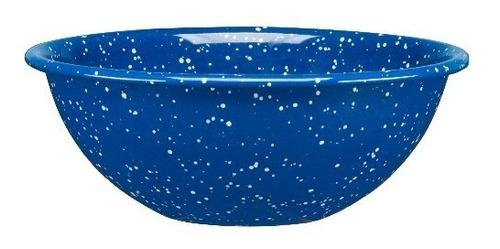set de bowl multiusos mediano de peltre, 6 piezas azul