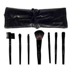 Set De Brochas De 7 Mac + Maquillaje M & D .ij0610