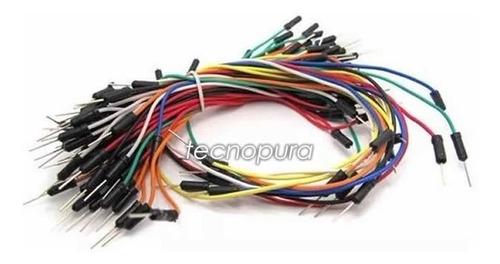 set de cables jumpers macho macho dupont en tamaños surtidos