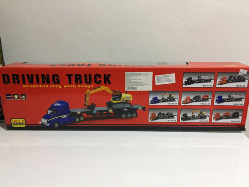 set de camión y autos a control remoto