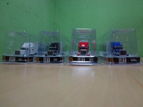 set de camiones container peterbilt 389