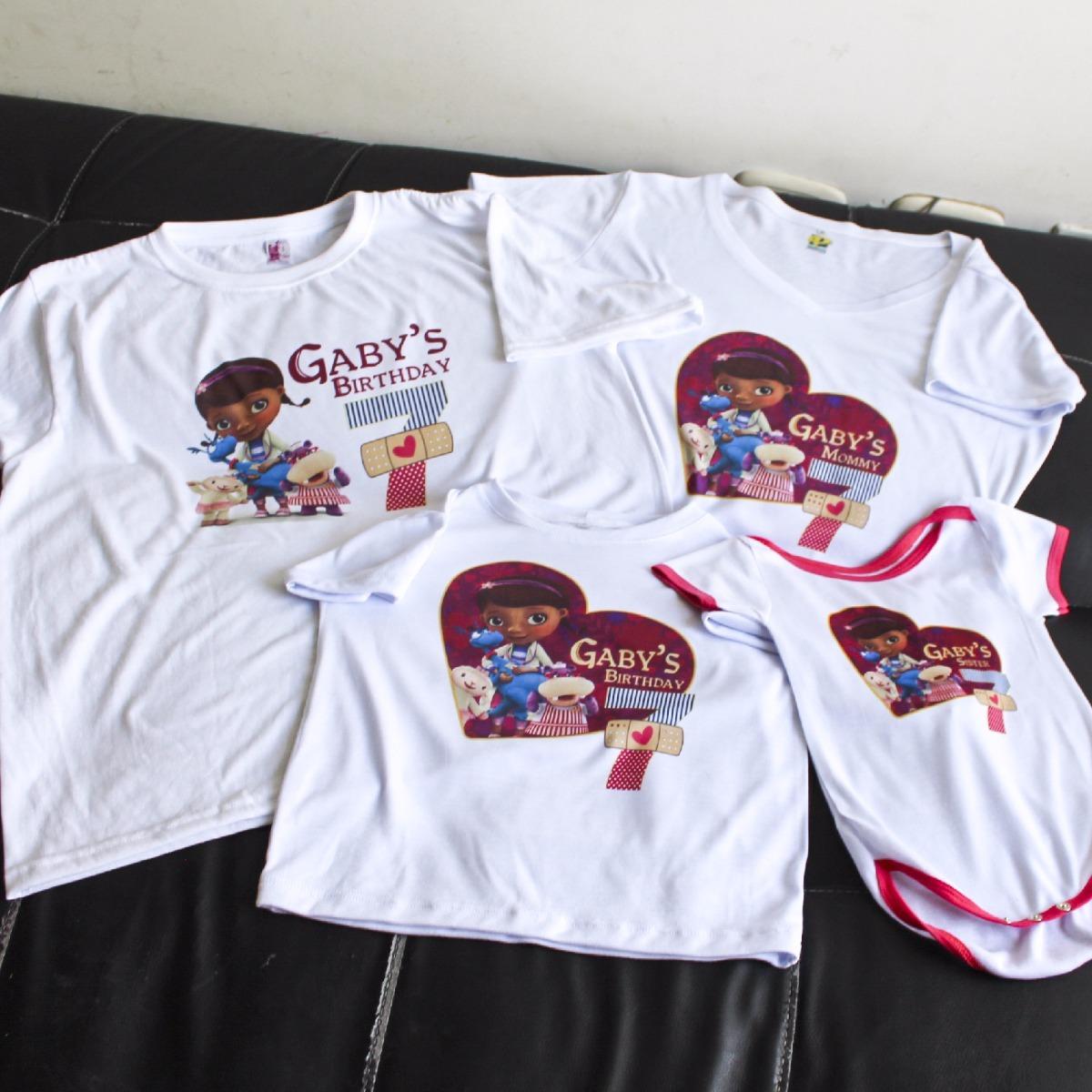 Camisetas de Doki Doki Cumple de Gaby t Franela 0e9c1337ec603
