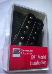 Set De Captadores Seymour Duncan Jb / '59 Model Black - Usa