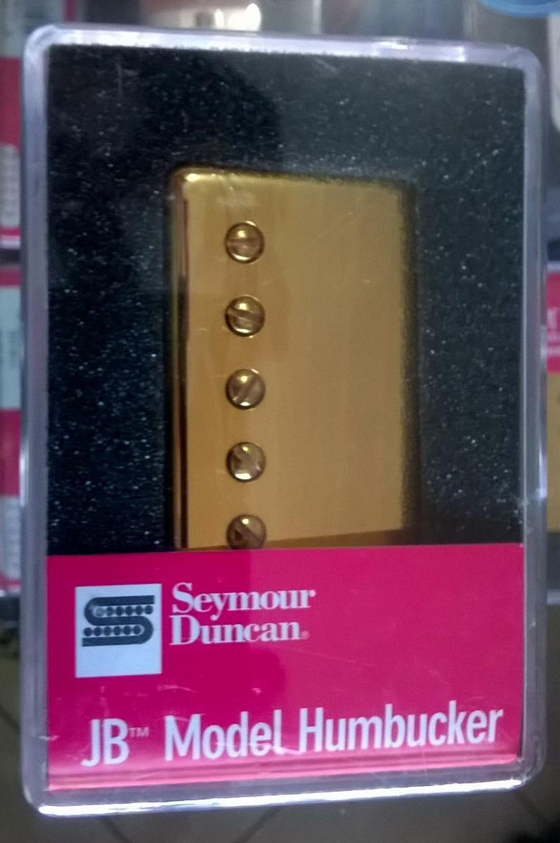 Set De Captadores Seymour Duncan Jb / '59 Model Gold - Usa
