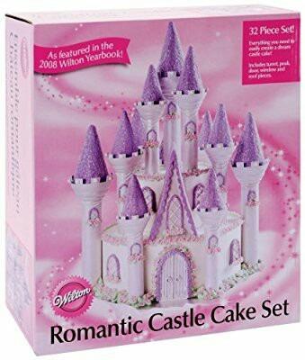 set de castillo para tortas marcas wilton