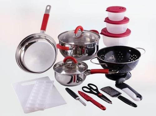 set de cocina 16 piezas kitchen starter set