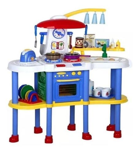 set de cocina con luz sonido y agua con envio