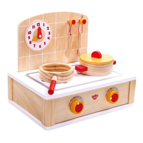 Set De Cocina De Madera De Tooky Toy (tkb900)