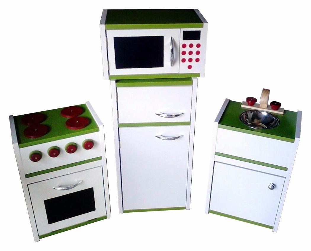 Set de cocina infantil pileta cocina y heladera 7 for Heladera y cocina juntas