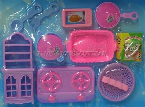 set de cocina juego para nias juguete de ollas kitchen play
