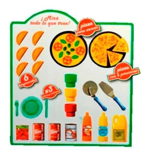 set de cocina juguete pizzeria 49 accesorios lionels