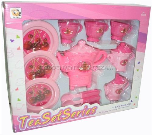 set de cocina taza cubierto de juguete para nia juego de te