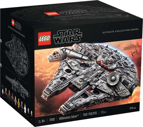 set de construcción lego star wars serie millennium falcon