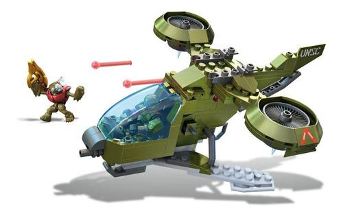set de construcción mega construx halo unsc vehículo