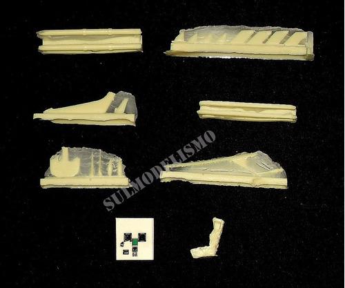 set de conversão em resina para f-5em fab 1/72 duarte models
