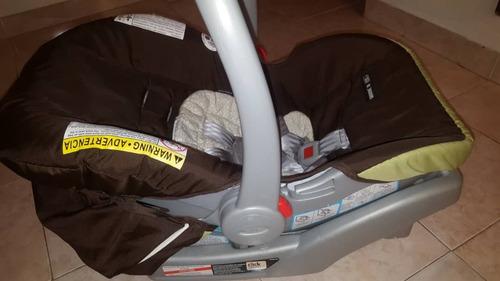 set de corral porta bebe y coche graco