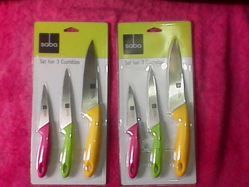 set de cuchillos marca saba