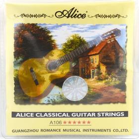 Set De Cuerdas Para Guitarra Clasica Alice