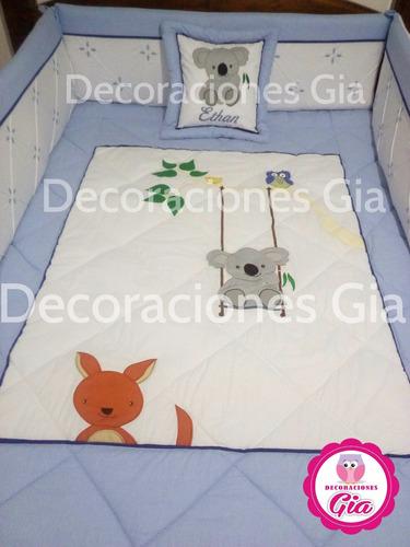 set de cuna de bebe ,edredon ,sabanas,cobertor, cojines