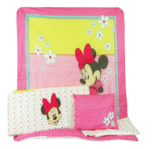 set de cuna disney minnie 100mn