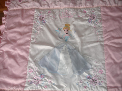 set de cuna princesa incluye cubre y laterales de cuna