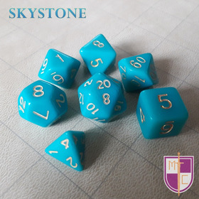 Set De Dados Poliédricos Wiz - Skystone