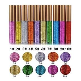 Set De Delineadores Con Glitter X 5unid Nuevos