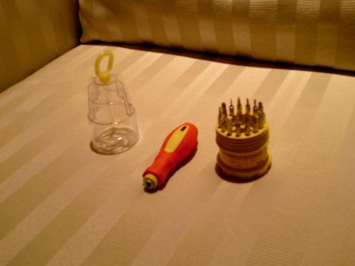 set de desarmadores para celulares y pdas