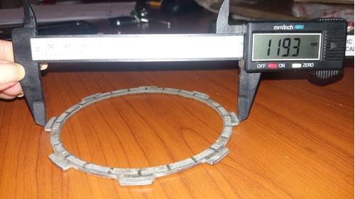 set de discos de embrague bajaj pulsar 135. endurix