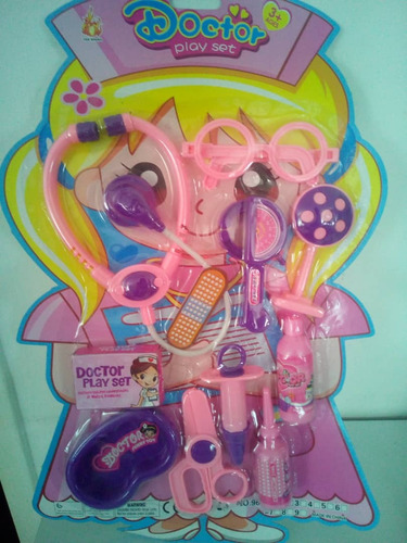 set de doctor juguete para niñas
